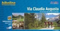 Coverbild des Bikeline-Ringbuchs zur Via Claudia Augusta